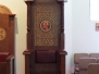 Aug. 2013 - Readers Stand and Bishops Throne