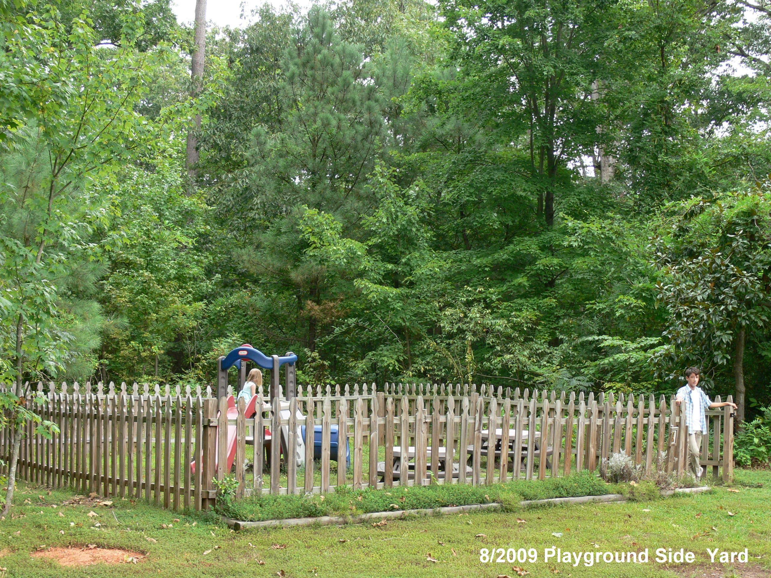 Playground side yard
